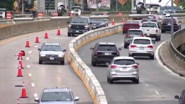 [NECN] Commonwealth Avenue Bridge Construction Causes Travel Headaches