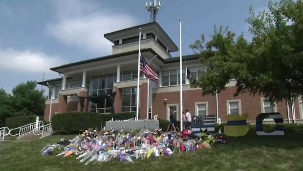 [NECN] Community Continues to Remember Slain Weymouth Sergeant, Resident