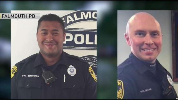 [NECN] Community Shocked After Falmouth Officers Shot