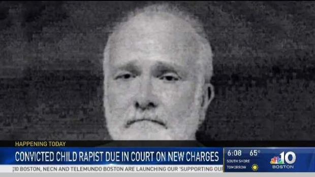 [NECN] Convicted Child Rapist Faces Judge for Lewd Act Charges