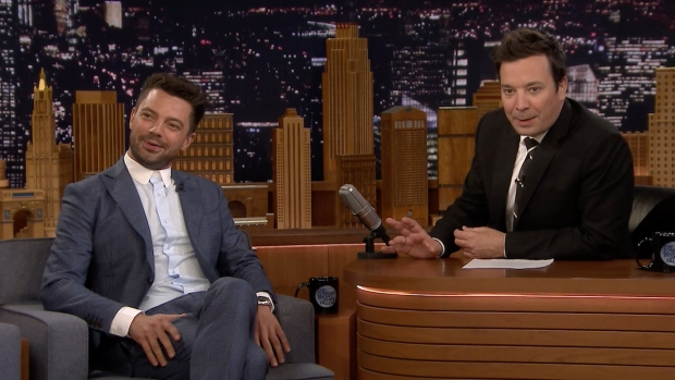 [NATL] 'Tonight': Dominic Cooper's Emails Are All Sent From 'Stupid Poo'