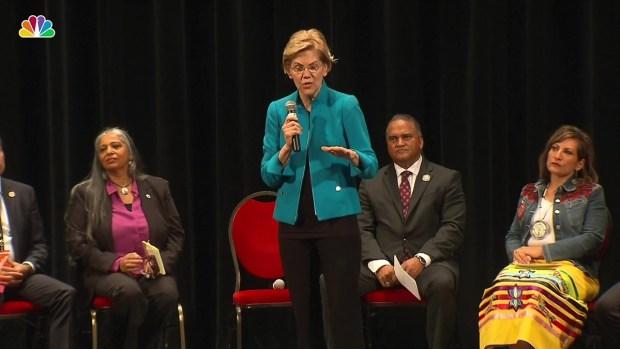 [NATL] Sen. Elizabeth Warren Offers Public Apology Over Claim to Tribal Heritage