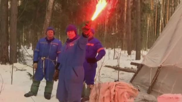 [NATL] Winter Survival Training for Astronauts