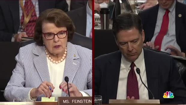 Comey: 'Lordy, I Hope There Are Tapes'