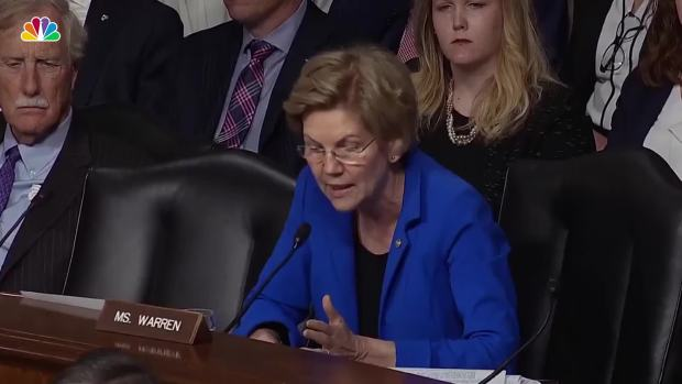 Sparks Fly Between Sen. Warren, Mark Esper Over Ties to Defense Contractor at Confirmation Hearing