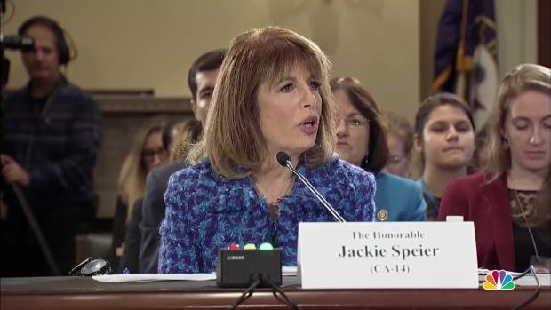 [NATL] Rep. Speier: 2 Current Members of Congress Have Sexually Harassed