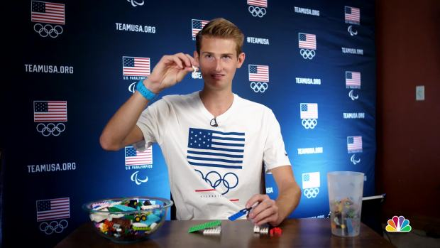 [NATL] Kevin Bickner Explains Ski Jumping With Legos