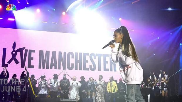 [NATL] Ariana Grande Returns to Stage to Honor Manchester Victims