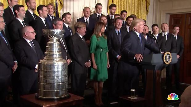 [NATL] Trump Jokes Penguins Co-Owner Should Help With NAFTA Negotiations