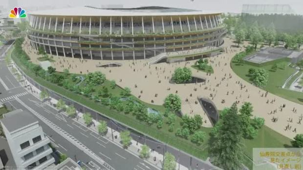 [NATL] Tokyo 2020 Olympic Stadium Design Revealed