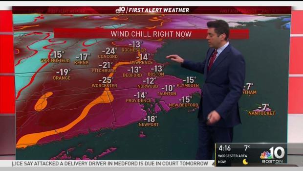 [NECN] Dangerous Deep Freeze Across the Region