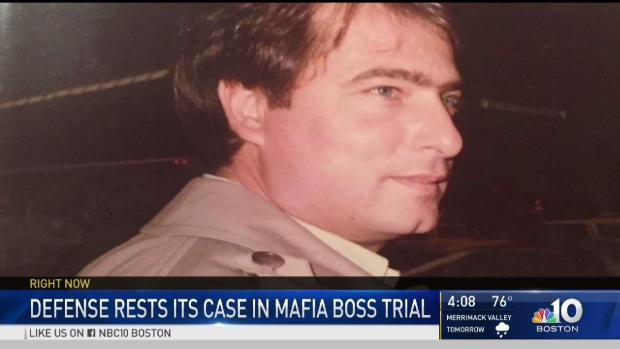 [NECN] Defense Rests Its Case in Mafia Boss Trial