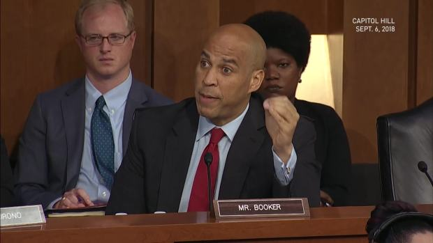 [NATL] Booker Threatens to Release Confidential Docs on Kavanaugh