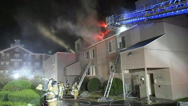 Students evacuated as crews fight 2-alarm dorm fire at SNHU