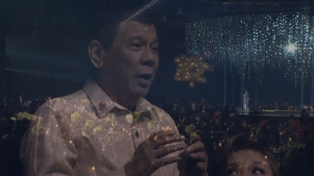 [NATL] Duterte Sings a Love Song for Trump at a Gala in the Philippines