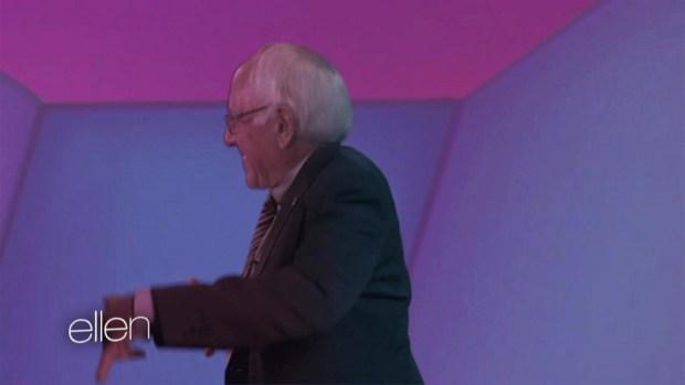 Ellen's 'Bernie Sanders' Video Spoof
