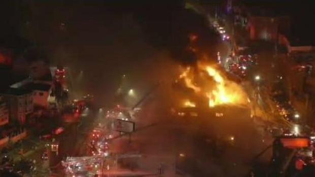 [NECN] Heartbreak for East Boston Business Owner After Massive Fire