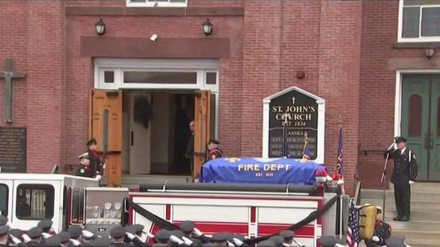 [NECN] Emotional Day as Worcester Says Goodbye to Fallen Firefighter