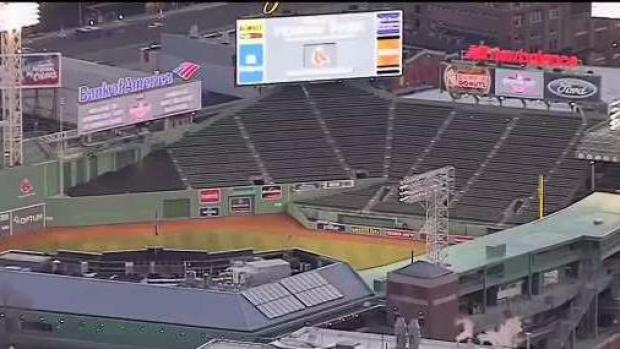 [NECN] Increased Security at Fenway Park Ahead of Game 3