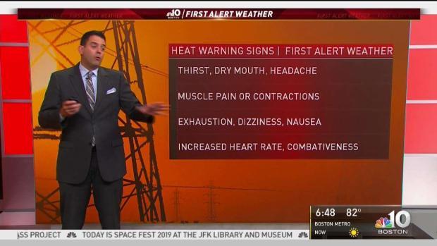 [NECN] FIRST ALERT: Excessive Heat Warning