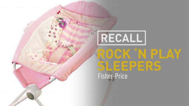 [NATL] Fisher-Price Recalls Rock 'n Play Sleeper