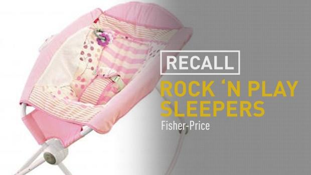 [NATL] Fisher-Price Recalls Rock 'n Play Sleeper