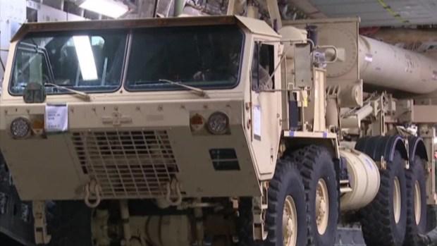 [NATL] US Sends Missile Defense System Parts to South Korea