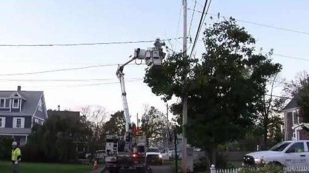[NECN] Fallen Branches and No Power Keeps Utility Crews Busy