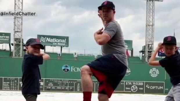 [NECN] Families Pay Tribute to Jimmy Fund Captain Brock Holt