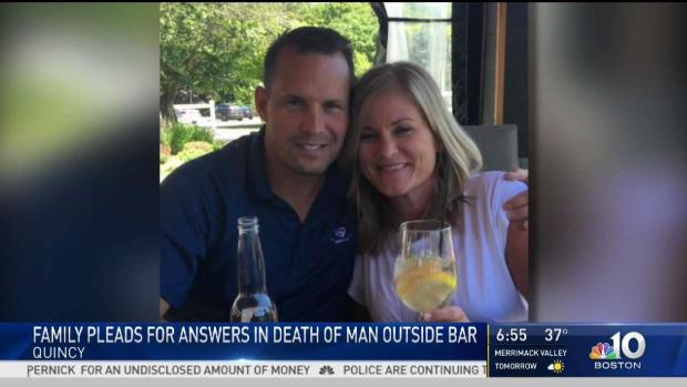 [NECN] Family Pleads for Answers in Death of Man Outside Bar