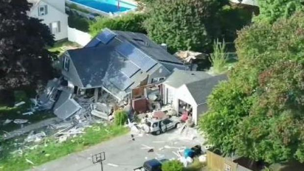 [NECN] Family That Lost House in Gas Explosion Files Lawsuit