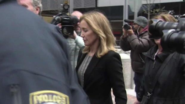 [NECN] Felicity Huffman Pleads Guilty in Admissions Scandal