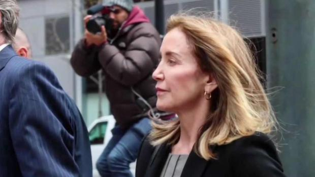 [NECN] Felicity Huffman Sentencing Expected Friday