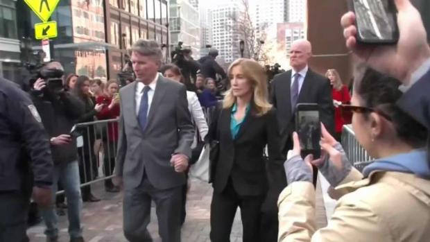 [NECN] Felicity Huffman and 13 Others to Plead Guilty