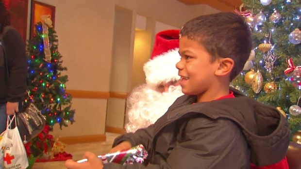 Fire Victims Surprised With Replaced Christmas Gifts