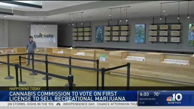 [NECN] First License to Sell Recreational Weed in Massachusetts