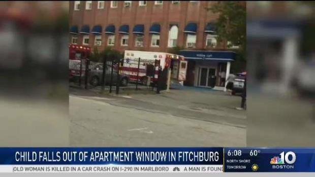 [NECN] Fitchburg Officials Investigate Toddler's Falling Death