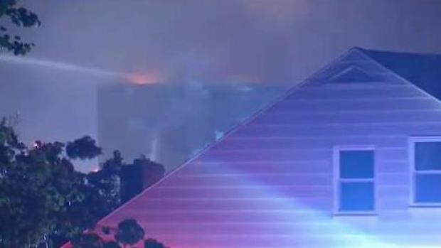 [NECN] Five-Alarm Fire Rips Through Revere Condos