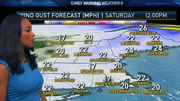 [NECN] Forecast: Sunshine to Break Through Today