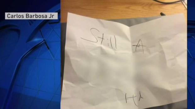 [NECN] Framingham State Student Targeted by Hate