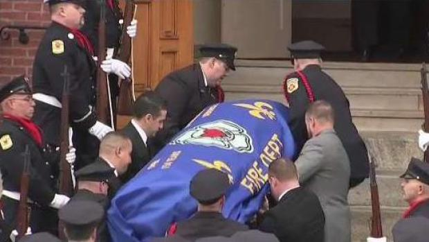 [NECN] Funeral Held for Worcester Firefighter Christopher Roy