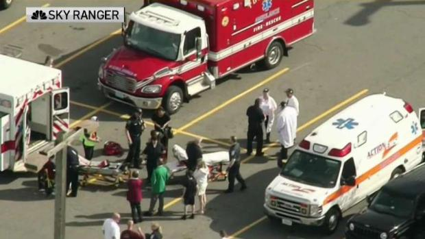 [NECN] Gas Leak Sickens People at Market Basket in Rowley