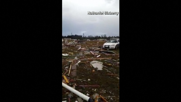 [NATL]Deadly Tornado Strikes Mobile Home Park in Georgia