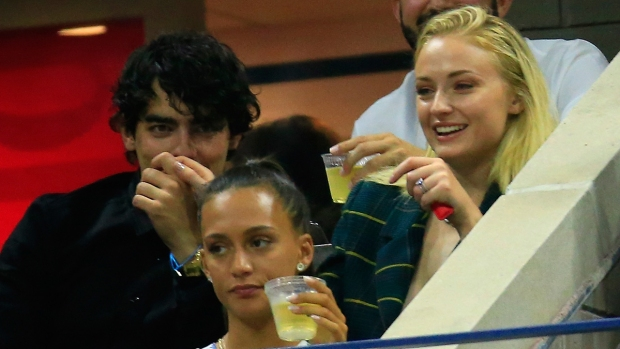 Celebs in the Stands: Joe Jonas, Sophie Turner at US Open