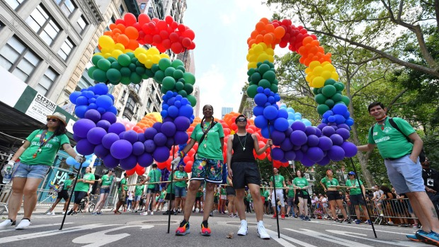 [NATL] NYC Pride Parade and WorldPride Commemorate 50th Anniversary of Stonewall Riots