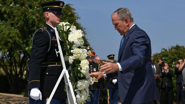 [NATL] Americans Mark 18th Anniversary of 9/11 Terror Attacks