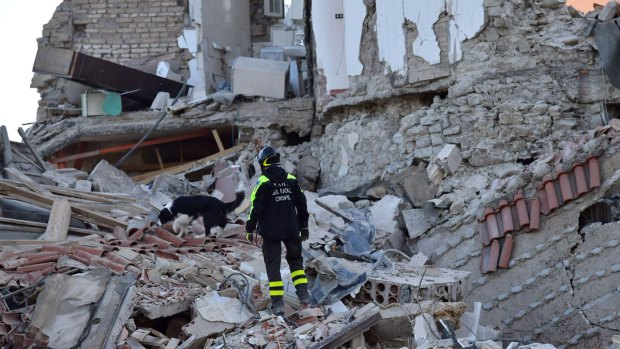 Dramatic Images: Deadly Quake Rocks Central Italy