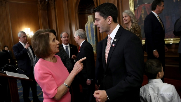 [NATL] Pelosi, Ryan Make Appeals on Day of Health Care Vote