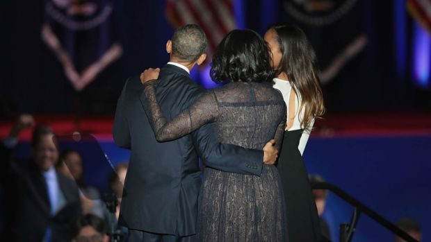 [NATL-CHI] Why Michelle Obama's Dress During President's Farewell Speech Was Significant