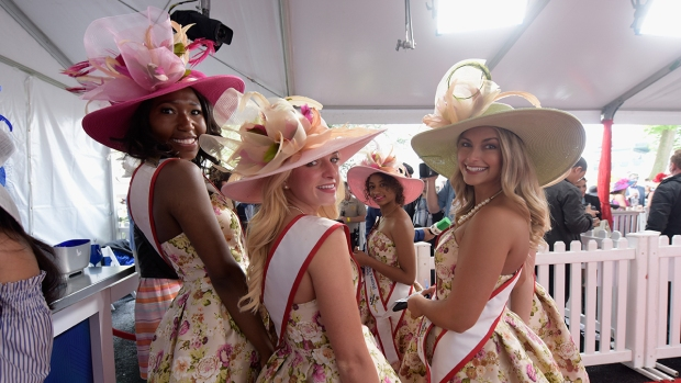 Crazy Hats and Fashions of the Kentucky Derby